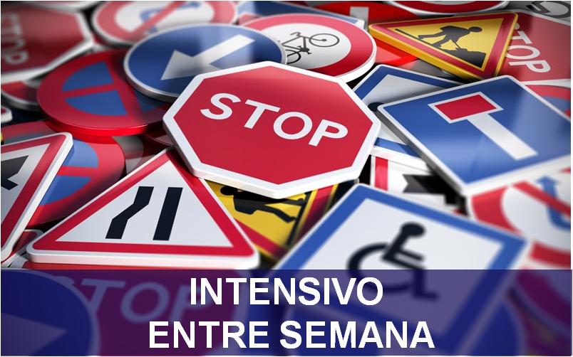 curso intensivo entre semana autoescuela en madrid