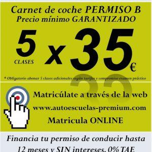 Carnet de Coche en Madrid