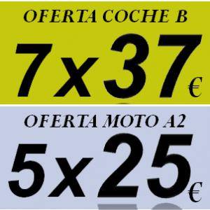 Carnet de Coche o Moto al mejor precio