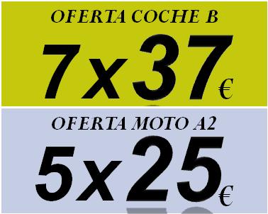Oferta carnet de conducir para coche o moto a2